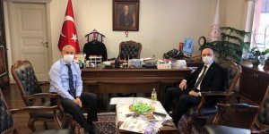 Talip Geylan, Bakan Yardımcısı Mustafa Safran İle Görüştü