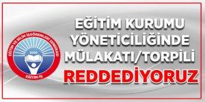 """""""Yönetici Atama Yönetmeliğinde MEB'e Mülakat Baskısı Devam Ediyor"""""""