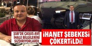 Savunma Sanayii Başkanlığı'nda casus avı... 1 yıl takip edildi, 5 milyon euro ile yakalandı