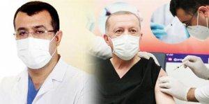 Erdoğan'a aşı vuran doktorun kim olduğu ortaya çıktı