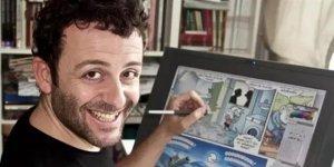 Öğretmene canlı ders sırasında 'karikatür' baskını! 5 polis evime baskın...
