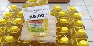 'Marketlerde ayçiçek yağı 75 lira değil 59 lira bir kere'