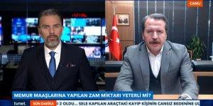 Ali Yalçın: Tüm kamu görevlileri için 400 TL seyyanen zam yapılmalı