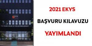 2021 MEB EKYS başvuru kılavuzu yayımlandı