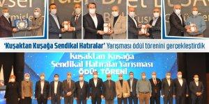 Ali Yalçın:'Kuşaktan Kuşağa Sendikal Hatıralar' Yarışması ödül törenini gerçekleştirdik