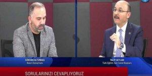 Talip Geylan'dan 60 Bin Atama, İl/ilçe Emri ve Ek Zam Açıklamaları