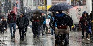 Meteoroloji'den bazı iller için yağmur ve kar yağışı uyarısı (25 Şubat Perşembe hava durumu)