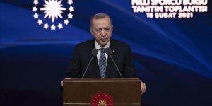 Erdoğan: Tüm özel eğitim kurumlarımızı, sporcularımıza destek olmaya davet ediyorum