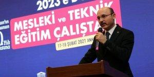 """Türk Eğitim-Sen: """"2023'e Doğru Mesleki ve Teknik Eğitim Çalıştayı"""" Sona Erdi"""