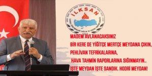 """Tuncer Yılmaz'dan Ali Yalçın'a İLKSAN Raporu Cevabı: """"İlksan Hava Tahmin Raporu""""na Sığınmayın.. İşte Sandık. Hodri Meydan!"""