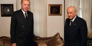 Erdoğan ile Bahçeli'görüştü, senaryolar havada uçuştu