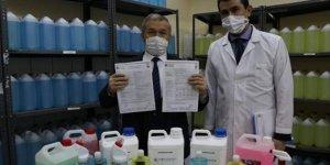 Meslek lisesi, kimyasal içermeyen, bitkisel dezenfektan üretti