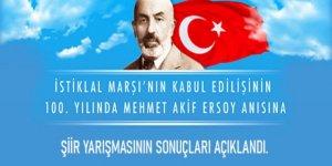 """""""İstiklalden İstikbale""""Şiir Yarışmasının sonuçları açıklandı"""