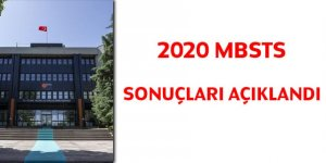 2020 DİB-MBSTS sonuçları açıklandı