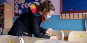 Okullarda 'yüz yüze' tablosu