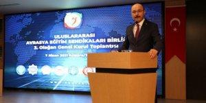 Uluslararası Avrasya Eğitim Sendikaları Birliği Genel Kurulu Yapıldı