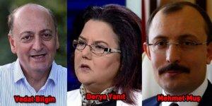 3 yeni Bakanın özgeçmişleri