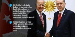 Erdoğan, Biden ile görüşmesinde FETÖ ve PKK Gündemi
