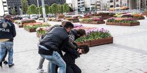 Başkentte'1 Mayıs eylemi' yapmak isteyen 41 kişi gözaltında