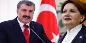 Akşener'den Bakan Koca'ya Uygur Türkleri Tepkisi: Yazıklar olsun bu arkadaşa