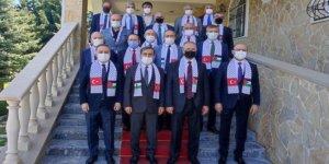 Türkiye Kamu-Sen'den Filistin Büyükelçisine Destek Ziyareti