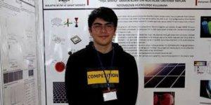 Lise öğrencisi ABD'deki bilim ve mühendislik yarışmasında birinci oldu