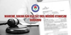 """MEB'in Usulsüz Okul Müdürü Atamasına Mahkeme """"DUR"""" Dedi!"""