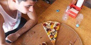 İki pizza iki kola 625 lira