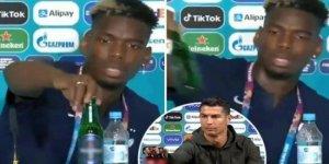 Ronaldo'dan sonra şimdi de Pogba tepkisi!