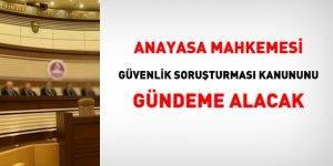 Anayasa Mahkemesi, Güvenlik Soruşturması Kanununu gündeme alacak
