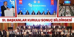 Eğitim-Bir-Sen 51. Başkanlar Kurulu sonuç bildirgesi