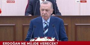 Erdoğan, KKTC Meclisi'nde beklenen müjdeyi açıkladı