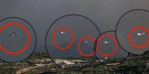 CHP'li vekil 'Vallahi helikopter görmedik' deyince, bu görseli paylaştı