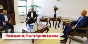 Eğitim-Bir-Sen'den YÖK Başkanı Erol Özvar'a Ziyaret!
