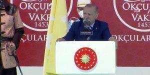 Erdoğan: Tarihimizde kolay kazanılmış zafer yok