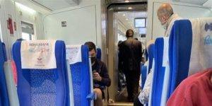 Konya'ya giden hızlı tren Tuzla'da kaza yaptı