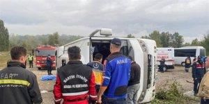 Biri başkan 2 MHP'linin öldüğü kaza kamerada
