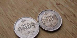 50 kuruşu basmanın maliyeti 66 kuruş oldu