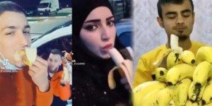 'Muz yeme' videosu paylaşan Suriyeliler sınır dışı edilecek