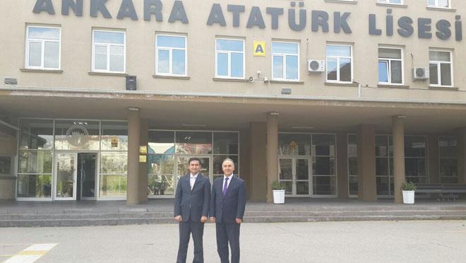 Ahmet Özer'den Ankara Atatürk Lisesi'ne Ziyaret