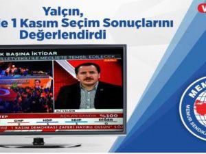 Ali Yalçın, 24 TV'de 1 Kasım Seçim Sonuçlarını Değerlendirdi