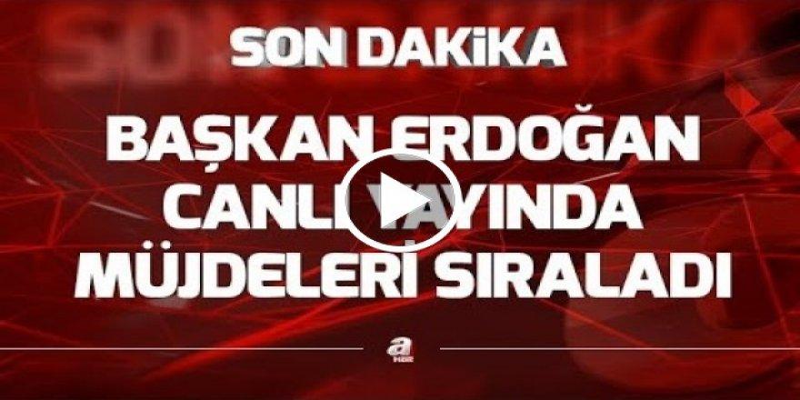 SON DAKİKA! Başkan Erdoğan'dan çifte müjde