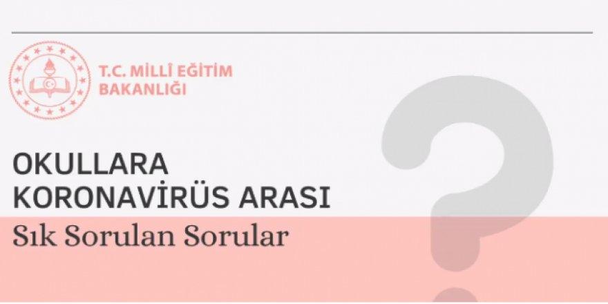 Okullara Koronavirüs Arası Sık Sorulan Sorular