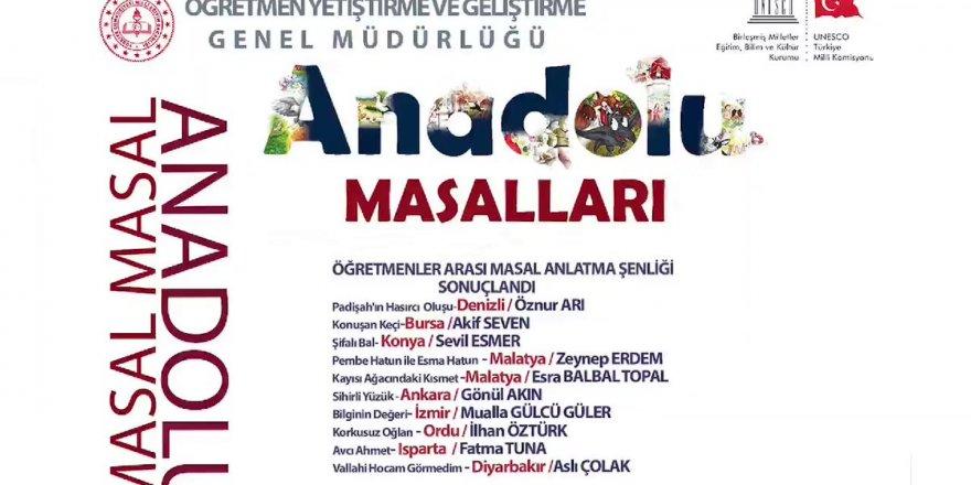Anadolu Masalları Masal Anlatıcılığı Festivali sonuçları