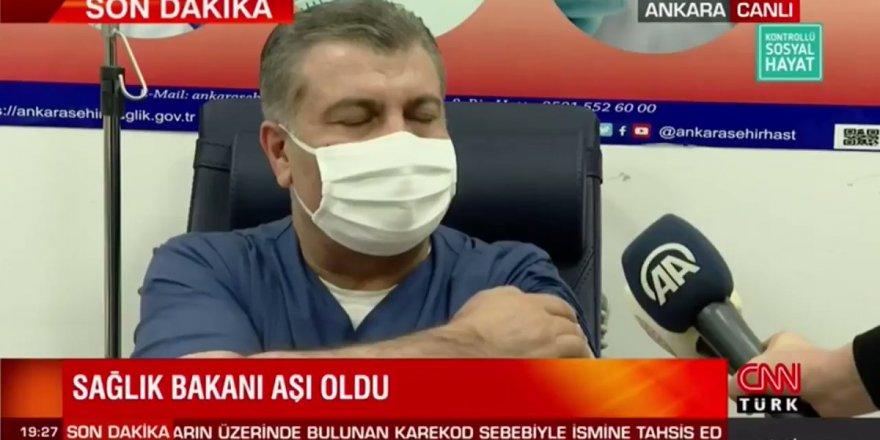 Fahrettin Koca'dan aşı sonrası ilk açıklama