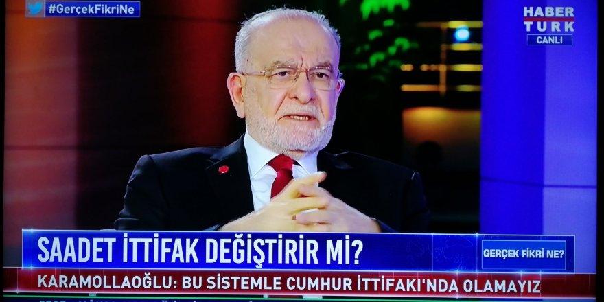 """Temel Karamollaoğlu: """"Bu sistem devam ettiği sürece Cumhur İttifakında yer alamayız."""""""