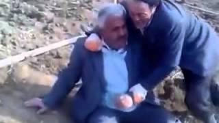 İki köylünün komik kavgası