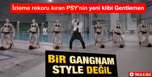 PSY'dan yeni klip: Gentleman