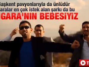 "Ankara'nın son fenomeni ""Angara bebesi"""